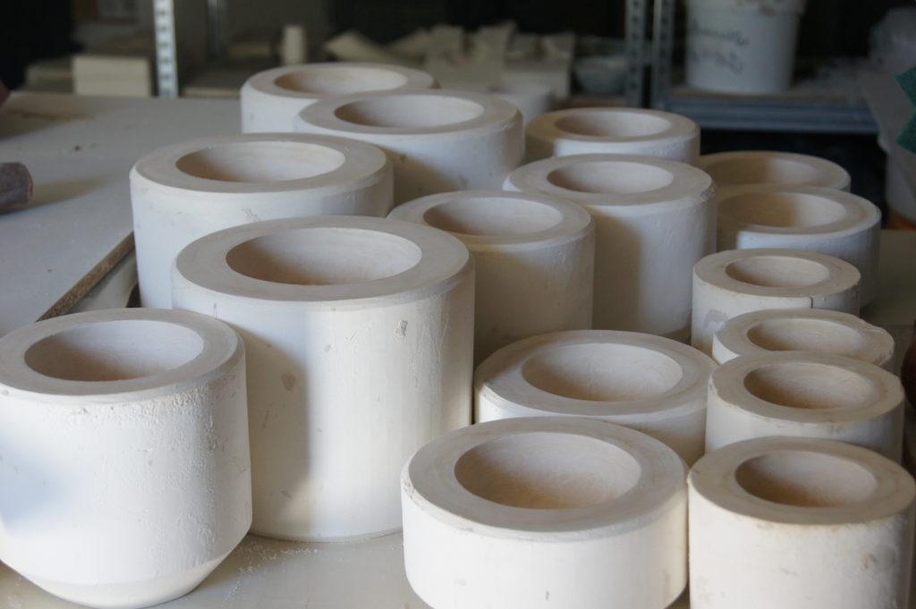 Modelage plâtre Atelier Ceramics d