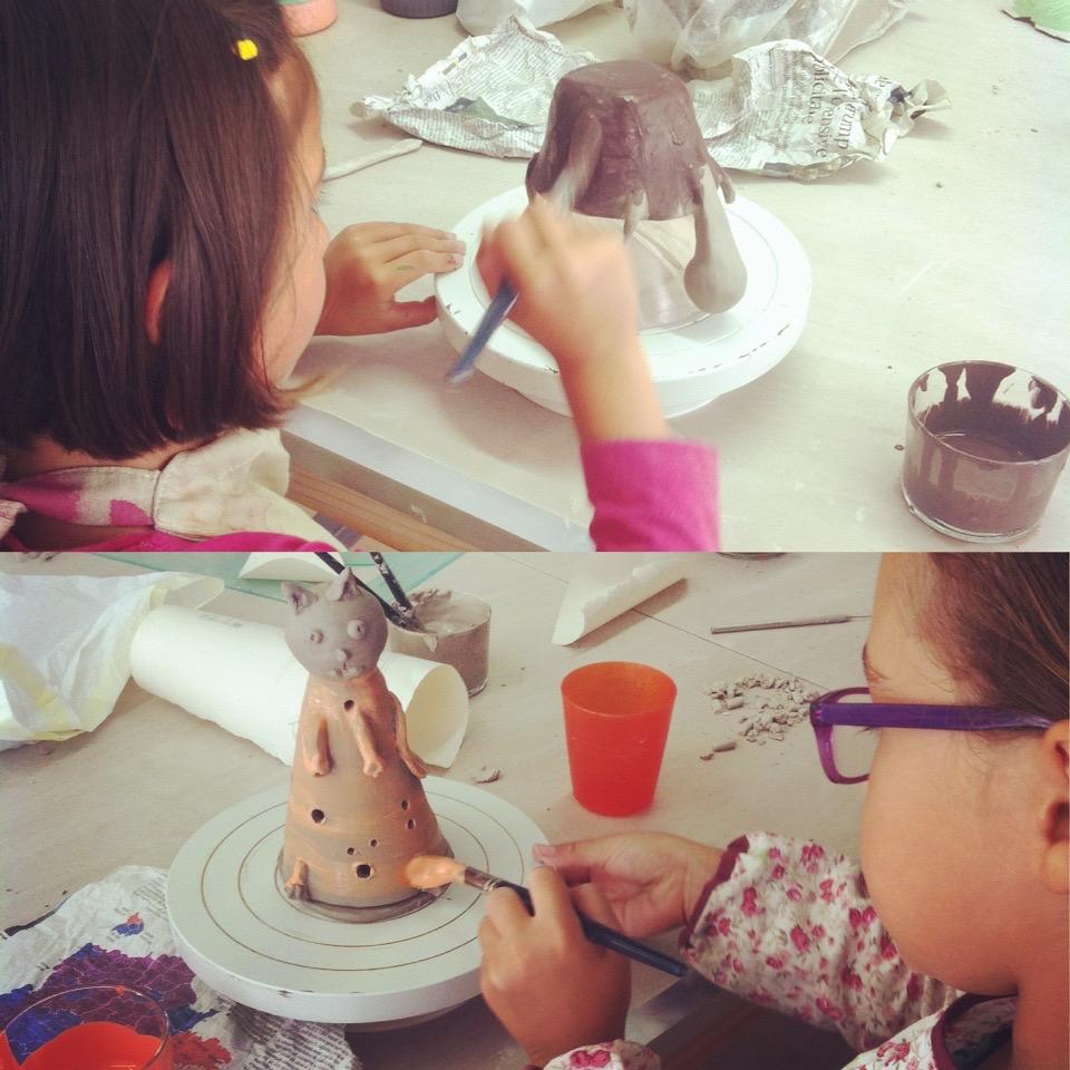 cours loisir modelage enfants Atelier Ceramics d. Delphine Millet centre ville Poitiers